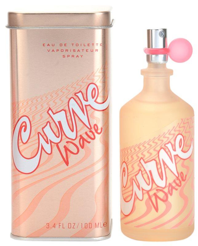 Liz Claiborne Curve Wave Eau de Toilette para mulheres 100 ml