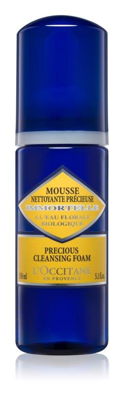 L'Occitane Immortelle Cleansing Foam for All Skin Types