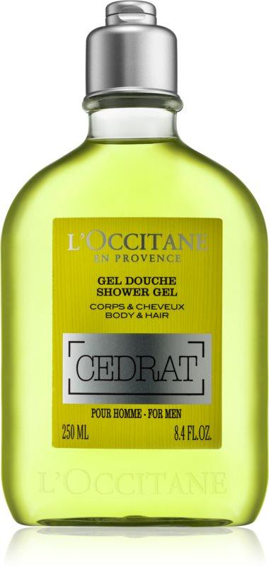 L'Occitane Cedrat Body and Hair Shower Gel