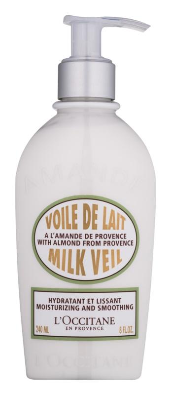 L'Occitane Amande hydratační tělové mléko s vyhlazujícím efektem