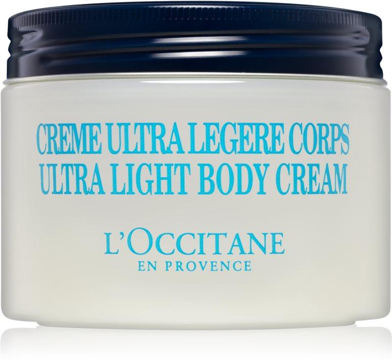 L'Occitane Karité crema fórmula ultra ligera para cuerpo