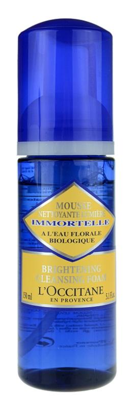 L'Occitane Immortelle čisticí pěna pro všechny typy pleti