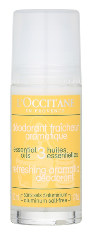 L'Occitane Aromachologie felfrissítő dezodor