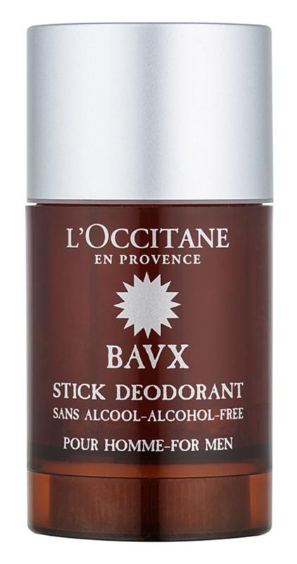 L'Occitane Bavx desodorizante em stick sem álcool