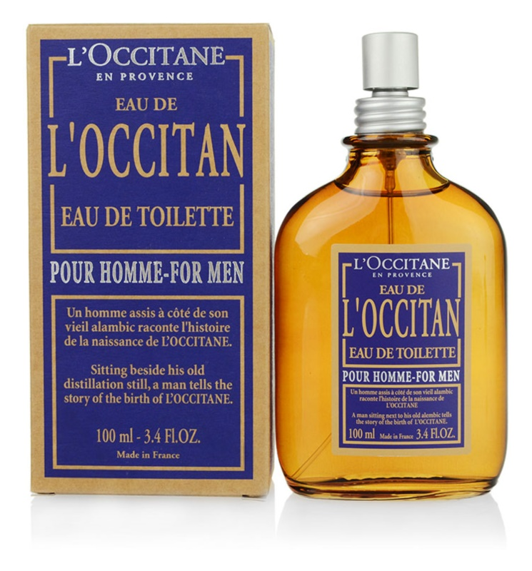 L'Occitane Eau de L'Occitan Pour Homme woda toaletowa dla mężczyzn 100 ml