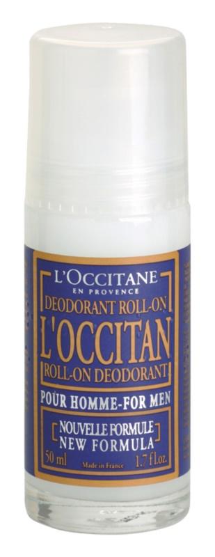 L'Occitane Pour Homme Roll-On Deodorant  For Men