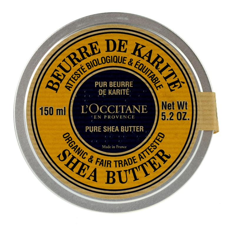 L'Occitane Karité ΒΙΟ 100% βούτυρο καριτέ για ξηρό δέρμα