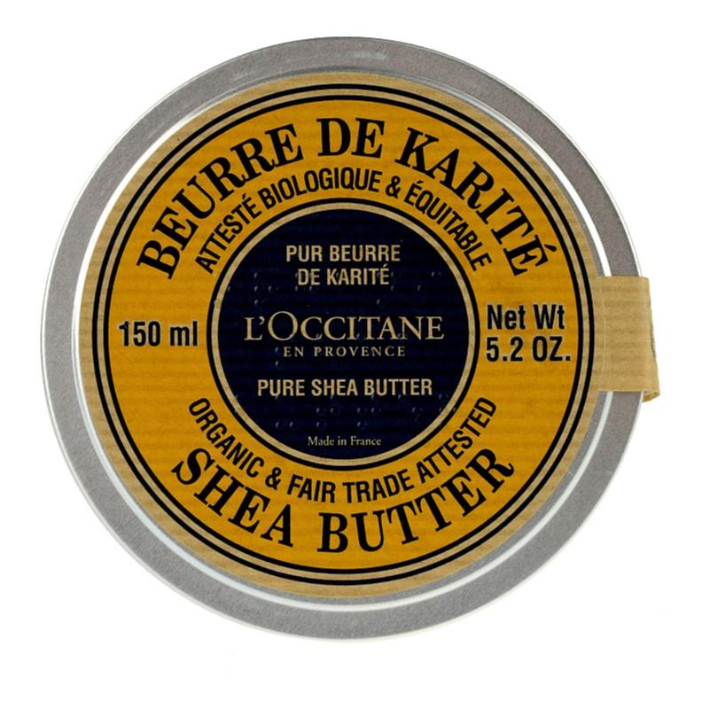L'Occitane Karité BIO 100% bambucké máslo pro suchou pokožku