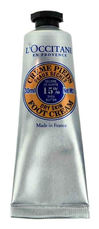 L'Occitane Karité Foot Cream For Dry Skin
