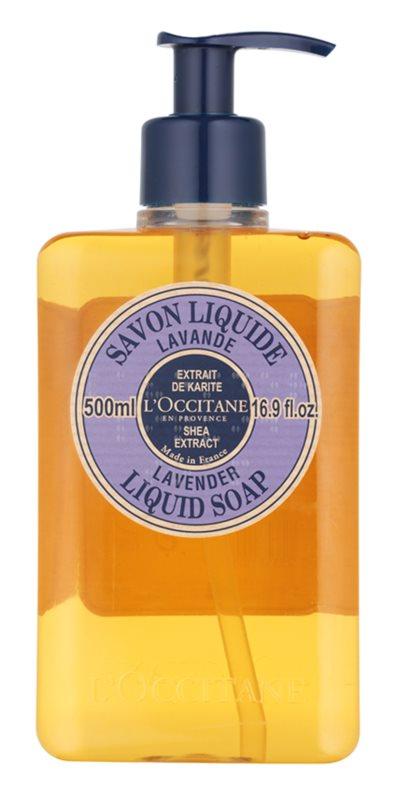 L'Occitane Lavande tekuté mydlo s bambuckým maslom