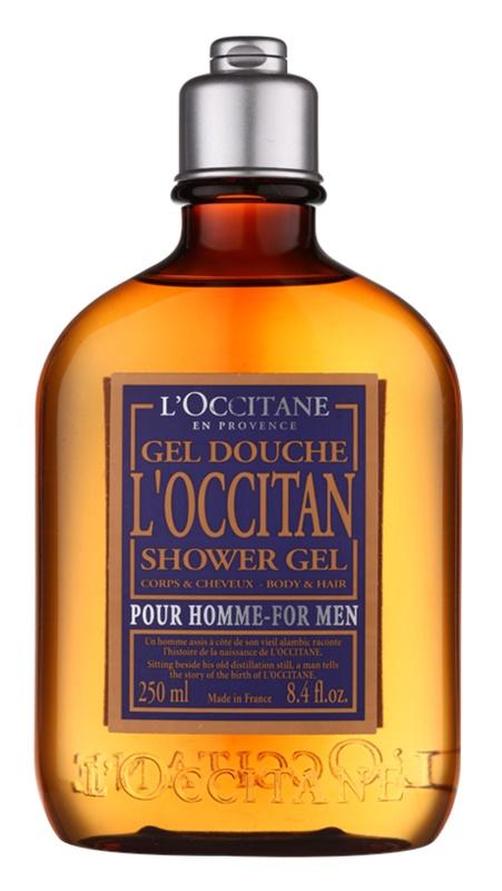 L'Occitane L'Occitan gel de ducha para cabello y cuerpo para hombre