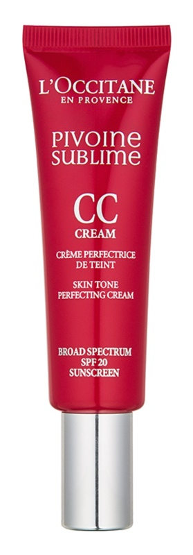L'Occitane Pivoine Sublime Skin Tone Perfecting Cream