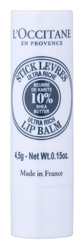 L'Occitane Shea Butter Lip Balm With Shea Butter
