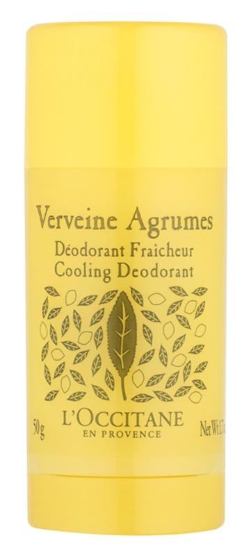 L'Occitane Verveine Agrumes Deodorant Stick for Women 50 g