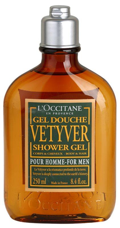 L'Occitane Vetyver gel de dus pentru corp si par