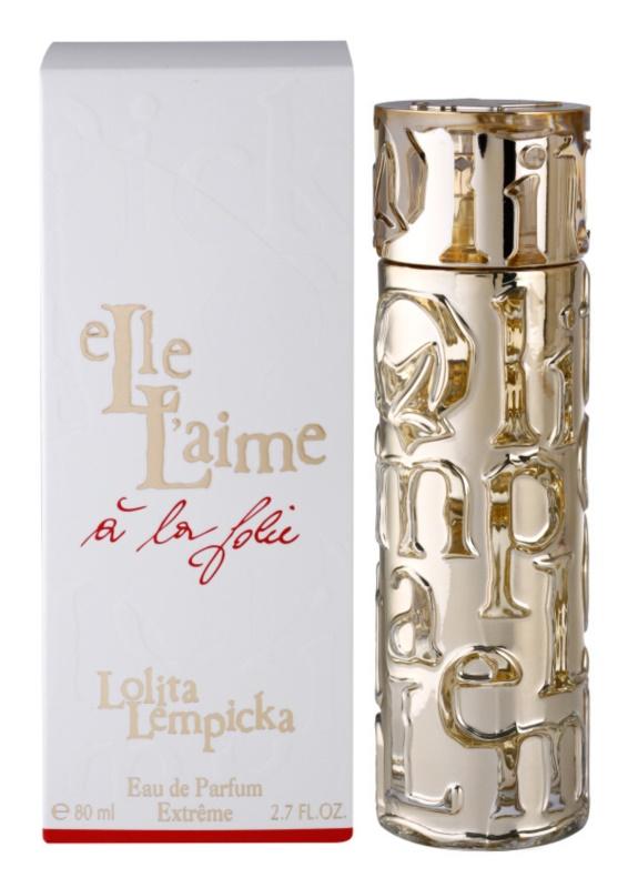 Lolita Lempicka Elle L'aime A La Folie eau de parfum nőknek 80 ml