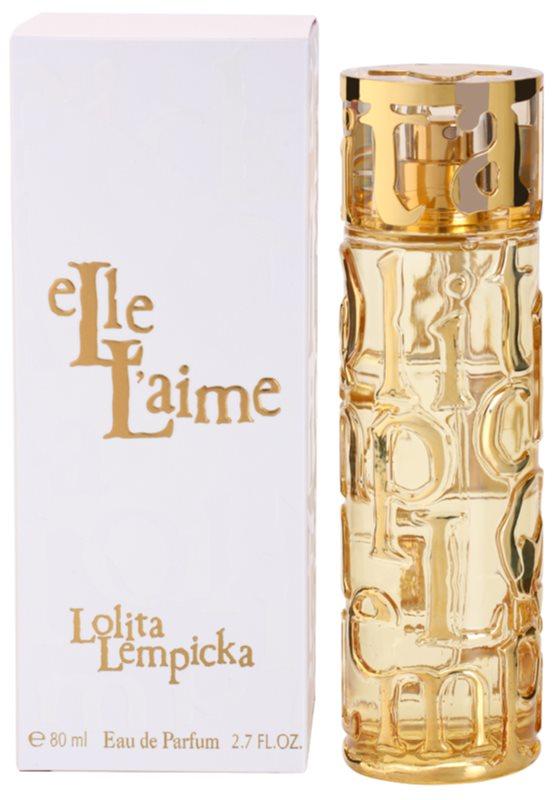 Lolita Lempicka Elle L'aime Eau de Parfum Damen 80 ml