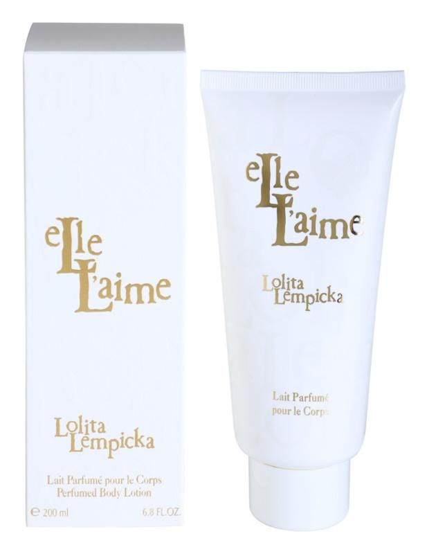 Lolita Lempicka Elle L'aime тоалетно мляко за тяло за жени 200 мл.