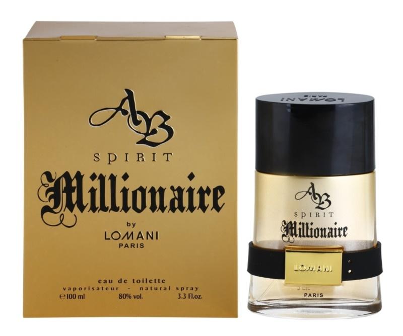 Lomani AB Spirit Millionaire Eau de Toilette for Men 100 ml