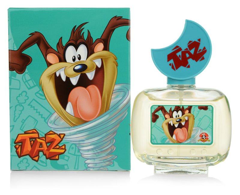 Looney Tunes Taz Eau de Toilette para crianças 50 ml