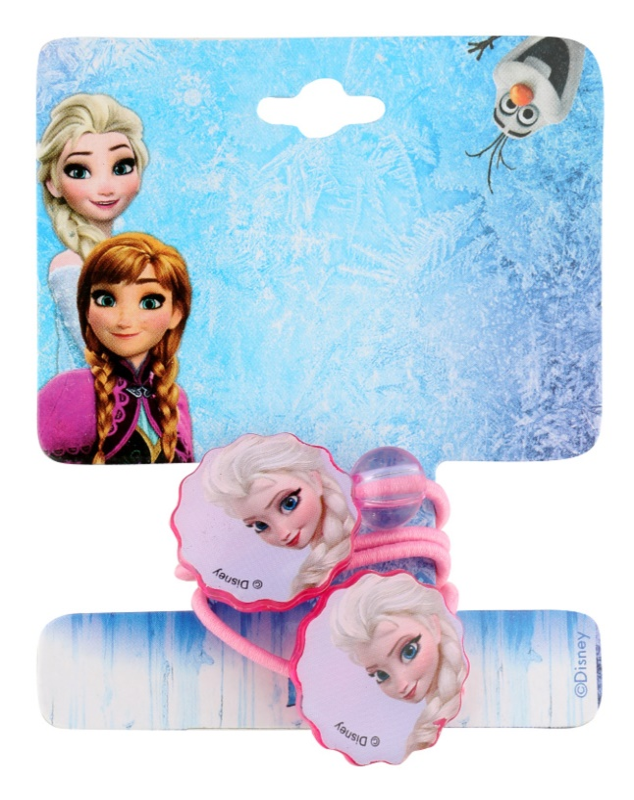 Lora Beauty Disney Frozen tenké gumičky do vlasů