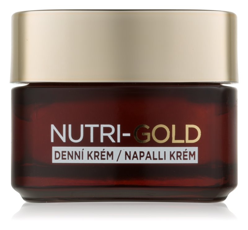 L'Oréal Paris Nutri-Gold dnevna krema za obraz za intenzivno prehrano kože