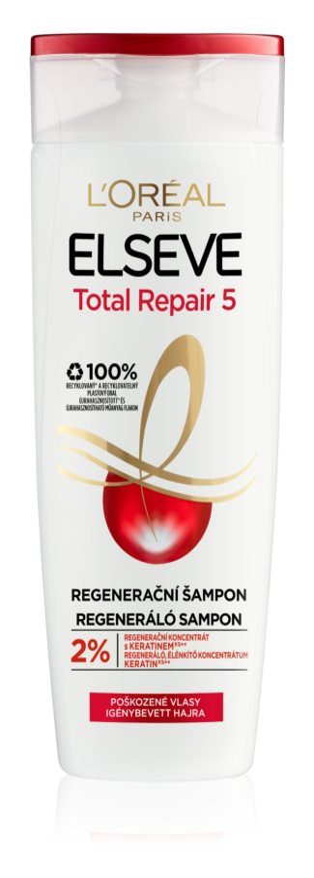 L'Oréal Paris Elseve Total Repair 5 regeneráló sampon