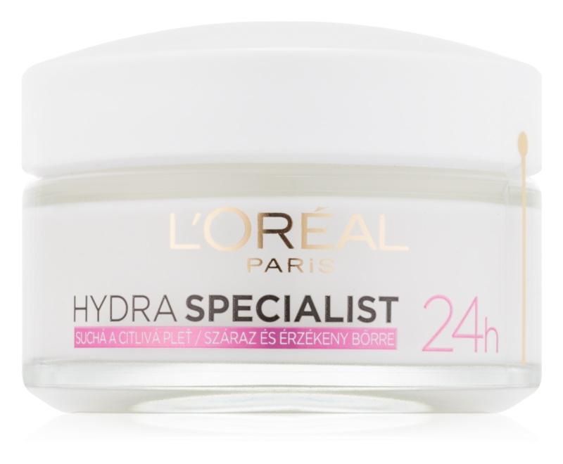 L'Oréal Paris Hydra Specialist denný hydratačný krém pre citlivú a suchú pleť