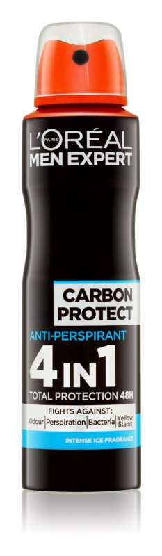 L'Oréal Paris Men Expert Carbon Protect antiperspirant v pršilu