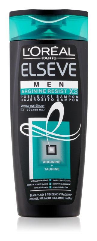 L'Oréal Paris Elseve Arginine Resist X3 hajerősítő sampon férfiaknak, gyenge, hullásra hajlamos hajra