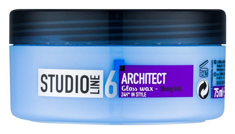 L'Oréal Paris Studio Line Architect vosk na vlasy so silnou fixáciou