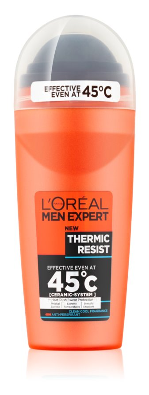 L'Oréal Paris Men Expert Thermic Restist кульковий антиперспірант