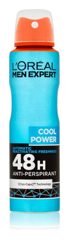 L'Oréal Paris Men Expert Cool Power spray anti-perspirant