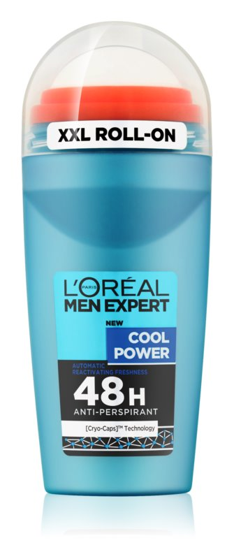 L'Oréal Paris Men Expert Cool Power antyperspirant roll-on