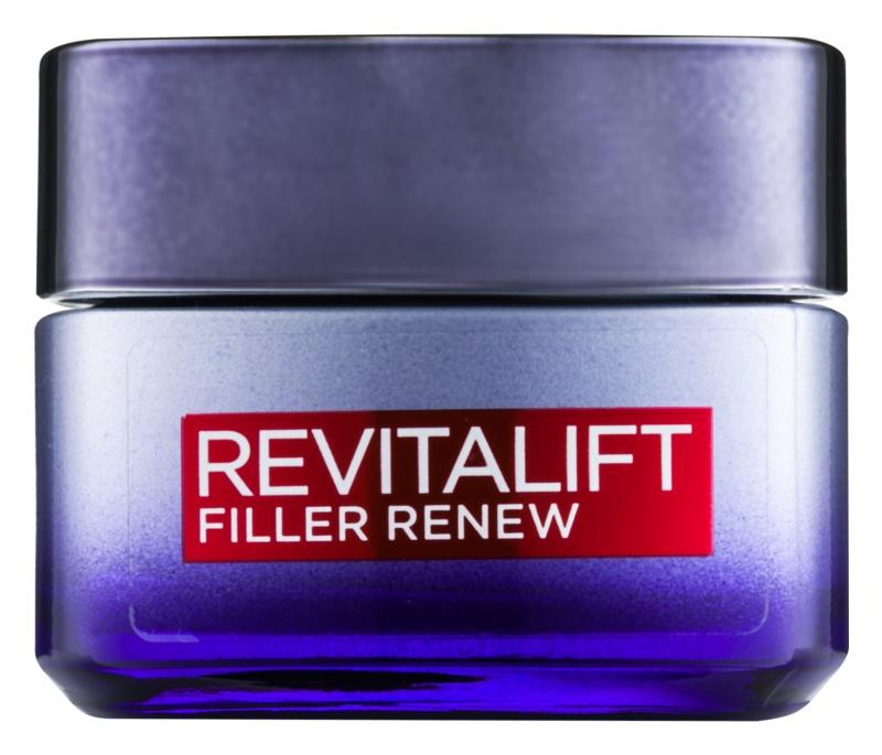 L'Oréal Paris Revitalift Filler noční krém proti stárnutí s kyselinou hyaluronovou