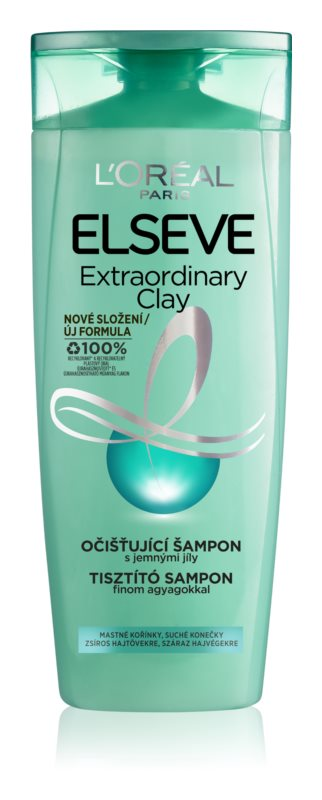 L'Oréal Paris Elseve Extraordinary Clay champú para cabello graso