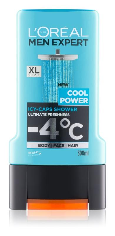 L'Oréal Paris Men Expert Cool Power żel pod prysznic