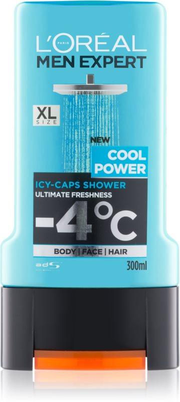 L'Oréal Paris Men Expert Cool Power гель для душу