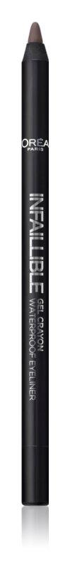 L'Oréal Paris Infaillible Gel Crayon vodeodolná gélová ceruzka na oči