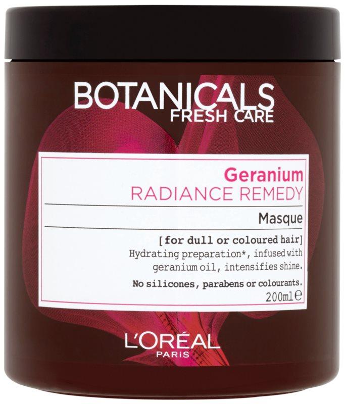 L'Oréal Paris Botanicals Radiance Remedy Maske für gefärbtes Haar