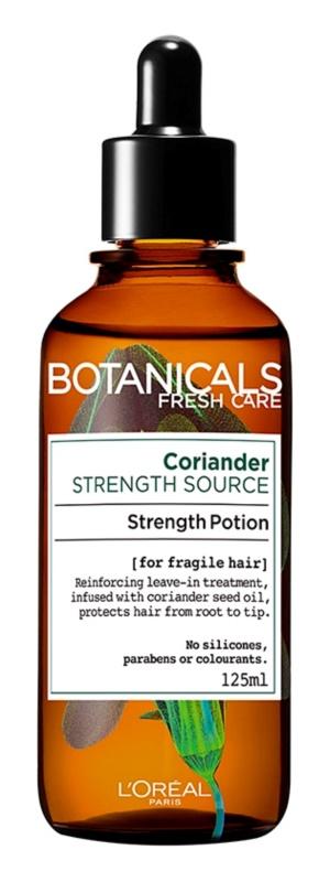 L'Oréal Paris Botanicals Strength Cure еликсир без отмиване за изтощена коса