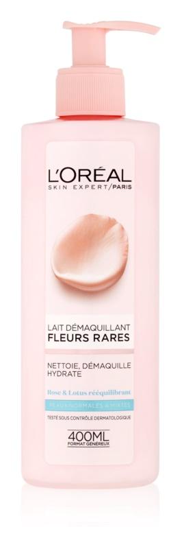 L'Oréal Paris Precious Flowers odličovacie mlieko pre normálnu až zmiešanú pleť
