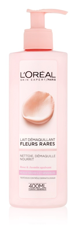 L'Oréal Paris Precious Flowers mleczko oczyszczające do skóry suchej i wrażliwej