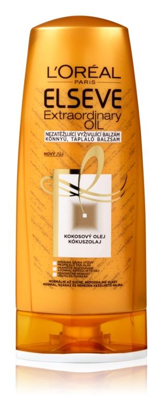 L'Oréal Paris Elseve Extraordinary Oil Coconut odżywczy balsam do włosów normalnych i suchych