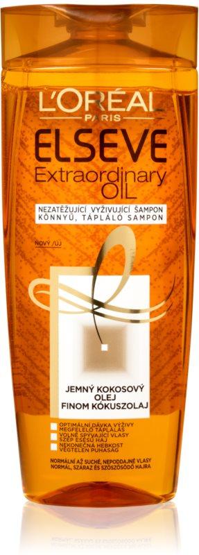 L'Oréal Paris Elseve Extraordinary Oil Coconut sampon hranitor pentru par normal spre uscat