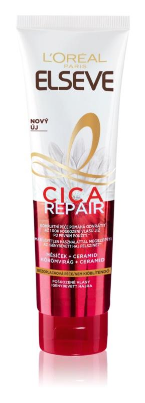 L'Oréal Paris Elseve Total Repair 5 Cica crema leave-in pentru par deteriorat