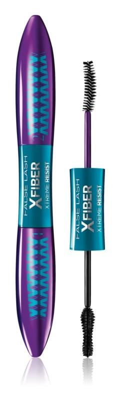 L'Oréal Paris False Lash XFiber Xtreme Resist dvojfázová riasenka pre extrémny objem, dĺžku a oddelenie rias vodeodolná