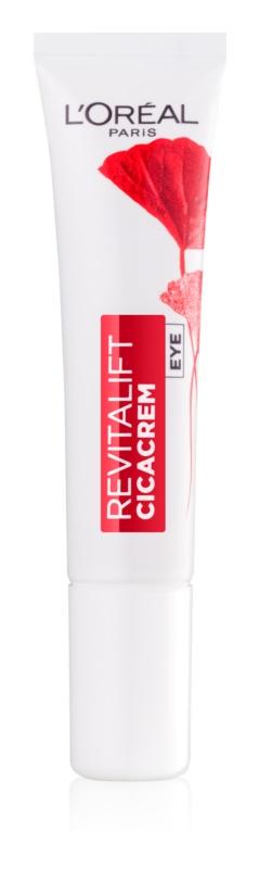 L'Oréal Paris Revitalift Cica Cream przeciwzmarszczkowy krem pod oczy