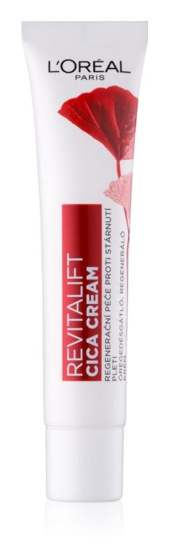 L'Oréal Paris Revitalift Cica Cream crema de día regeneradora  antienvejecimiento