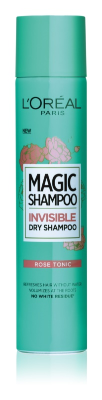 L'Oréal Paris Magic Shampoo Rose Tonic Invisible Volumizing Dry Shampoo